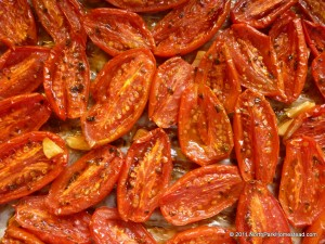 Roasted San Marzano Tomatoes with Garlic